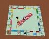 Monopoly board rug