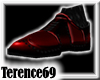 69 Wingtip Shoes -Red