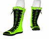 Lime/black  Converse