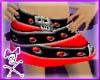 Belt Skirt- Red