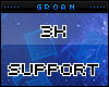 G| 3k Support Sticker
