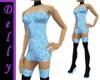 ~D~Lt blue short dress