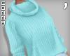 , Aqua Sweater Babe