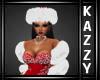 }KR{ Red Winter Hat