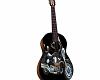 Guitare moto pose