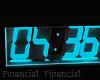 Digital Black Clock