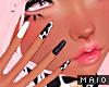 🅜 COW: cute moo nails