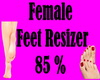Female Feet Resizer 85%