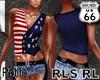SD RL Petite USA Vest