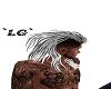 ~LG~ WHITE TIGER HAIR