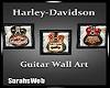 Three Harley Guitars Art