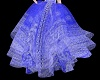 Periwinkle Lace Skirt