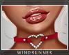 WR! Heart Choker Rose
