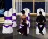 Wedding Chairs Purple