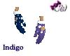 Indigo Clowns Gloves
