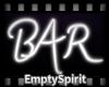 Glow Bar Sign