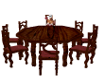 Table Chairs Cherry Wood