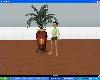 {ys} gold N Maroon Vase