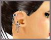 Silver Earring Chain