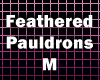 Feathered Pauldrons