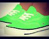 Female Green Converse