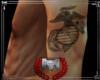 lM;USMC;Tattoo