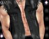 [CCQ]Black-Torn Vest