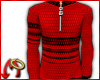 Zip Sweater Red