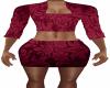 Red Epik Tight Dress