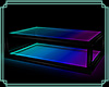Glass Glow Table Blue/P