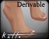 ♚ Der. Bare Feet