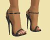 "Matching Grey 5"" Heels"