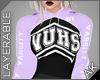 ~AK~ Varsity Crop: Lilac