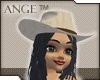 Ange™ Tan Cowgirl Hat