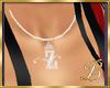 diamond Z necklace