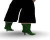 (RTM)Green lowboots