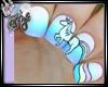 (ED) Unicorn Nails