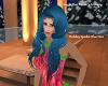 Holiday Sparkl Blue Hair