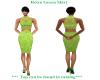 [WT]Retro Green Skirt