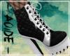 (A) Bunny Black Boots