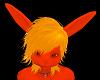 Golden Yellow Hare  hair