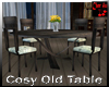 Cosy Old Chat table