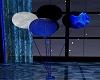 Back/Blue ballooms