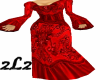 2L2 Bohemian Red Gown