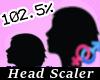AC  Head Scaler 102.5 %