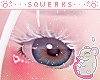 [S] Ducky white lashes