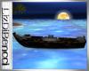 Romantic boat night