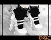 . `GothLoli shoes .blanc
