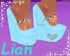 Blue Dreams Moms Shoes
