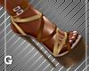 Cream Puff Sandals